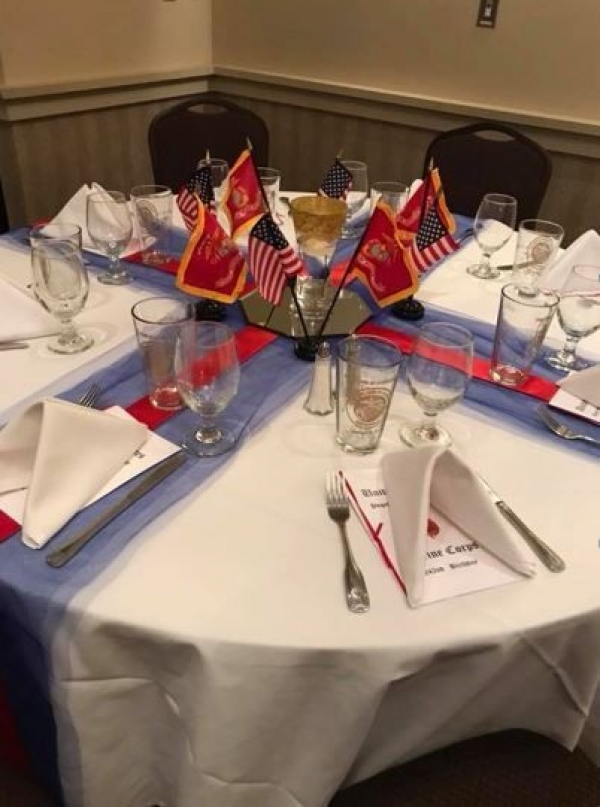 242nd Marine Corps Birthday Dinner 2017 - Puget Sound Marine Corps League Detachment 336