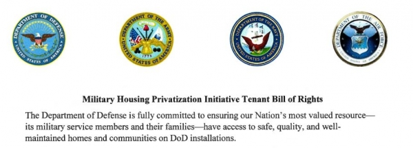Military Housing Privatization Initiative Tenant Bill of Rights Signed by Secretary Esper